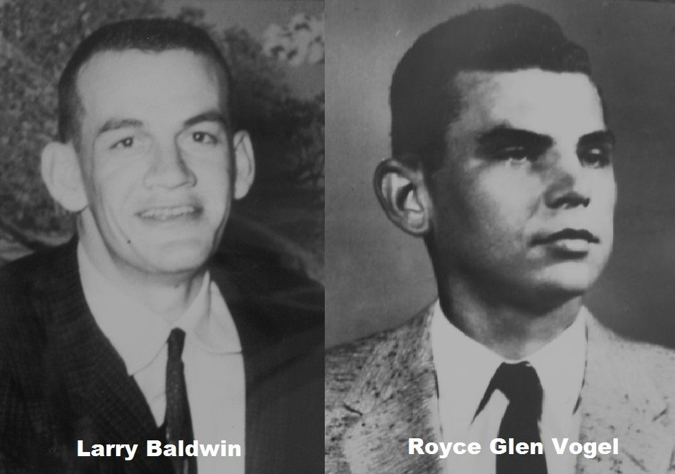 Portraits of Fallen Firefighters Larry Baldwin and Royce Glen Vogel