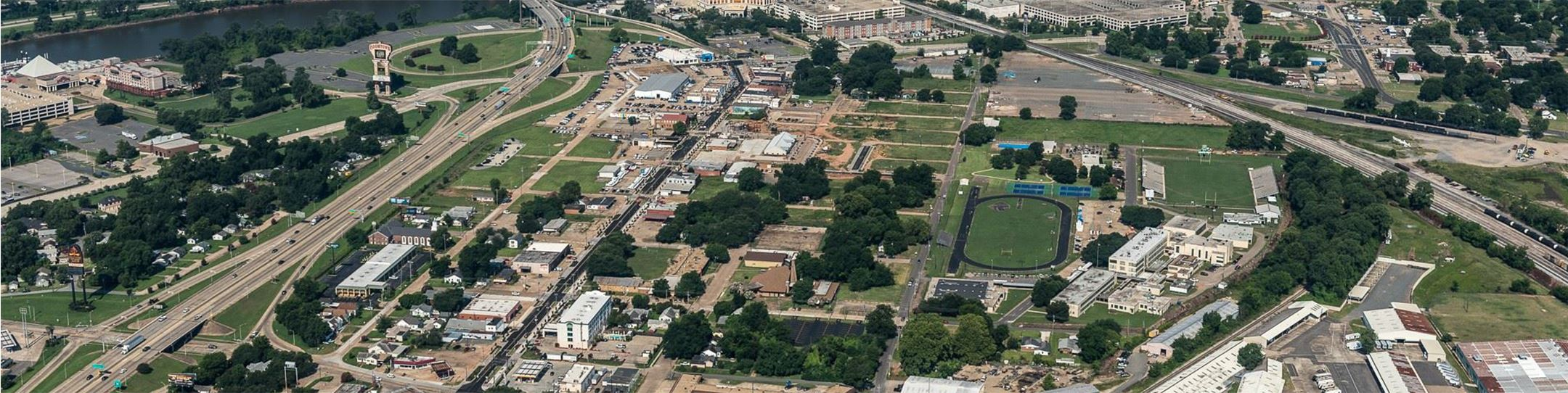 Aerial View of Bossier City