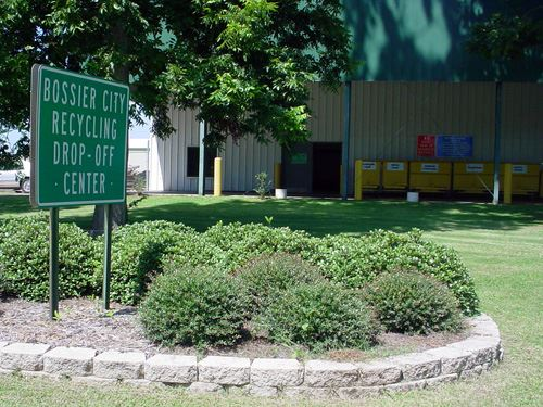 Recycle Center Sign