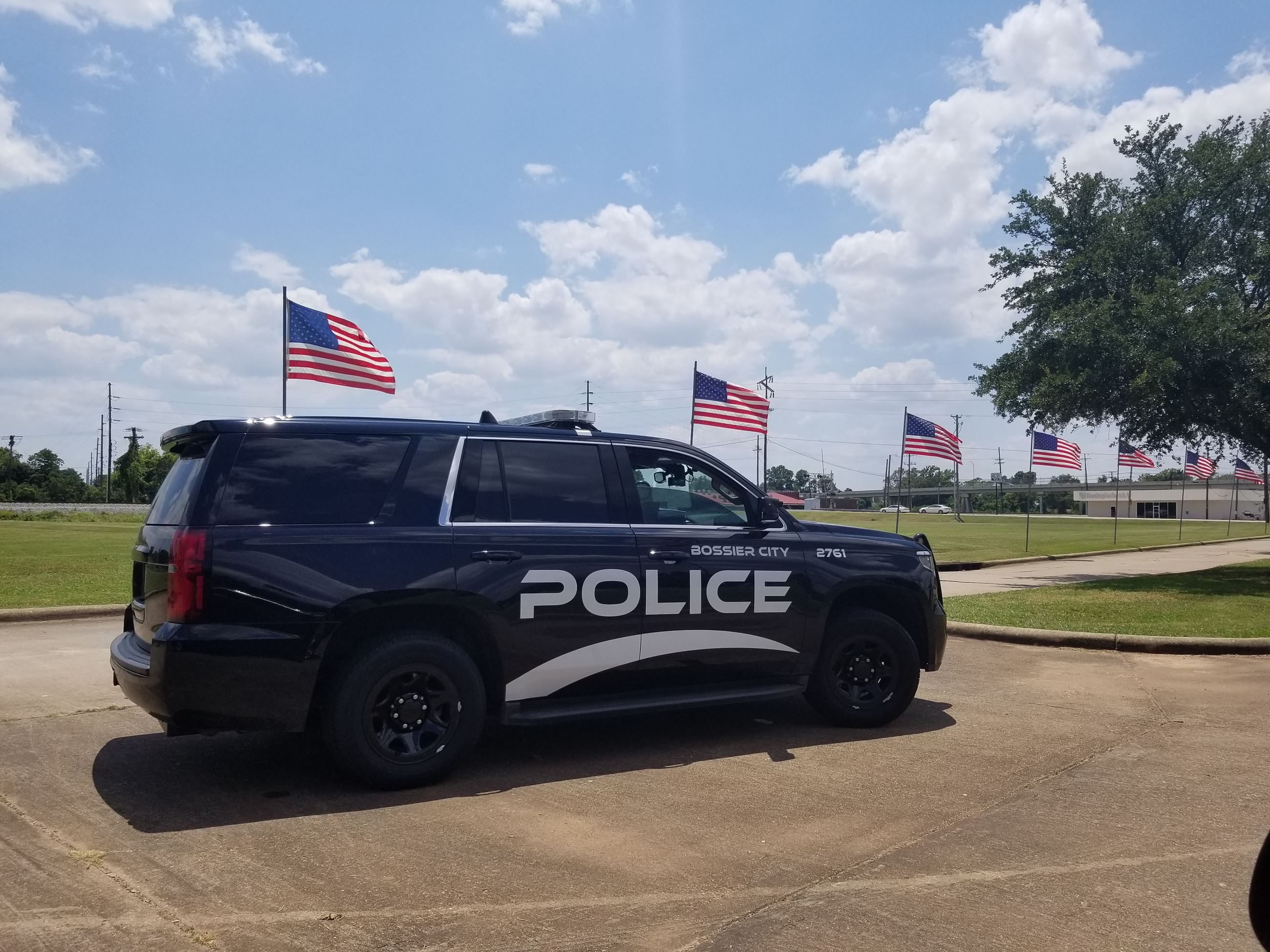 Bossier City Police Vehicle