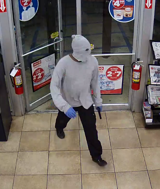 Armed Robbery Suspect Pic 1