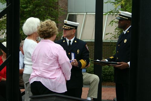Fire Chief Award of Honor Sipulvado Ceremony
